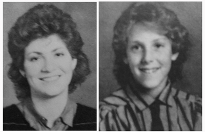 Miss Hoffman and me in 1984-85. I think we had the same hairstylist.