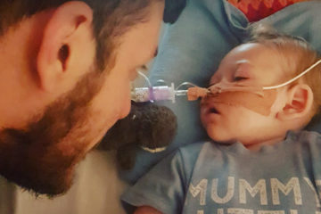 Charlie Gard and father